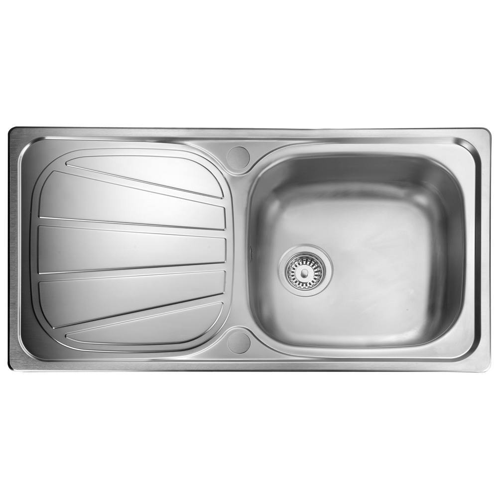 Rangemaster Baltimore 1.0 Bowl Stainless Steel Kitchen Sink